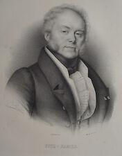 FITZ-JAMES , PORTRAIT, LITHOGRAPHIE 1840 DELPECH