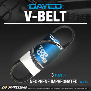 Dayco Alternator Belt for Saab 99 1.9L 2.0L 4 cyl SOHC 8V Premium Quality