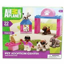 Animal Planet Pet Adoption Center Junior Bulding Block Set - New