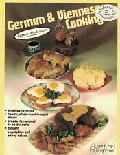 German and Viennese Cooking by Culinary Arts Institute CIA 1982 Paperback