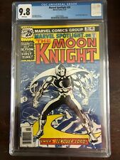 Marvel Spotlight 28 CGC 9.8  First Solo Moon Knight Story Disney+ Series Coming