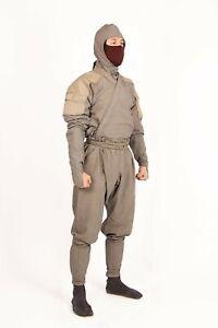 Special GRAY Ninja Uniform (Not Tan) Ninjutsu Shinobi Shozoku