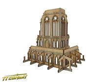 TTCombat - Gothic Corner Ruins B - Sci Fi Gothic Scenics (28 - 30mm scale)