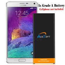 AceSoft 7220mAh Extended Slim Battery for Samsung Galaxy Note 4 IV SM-N910 Phone