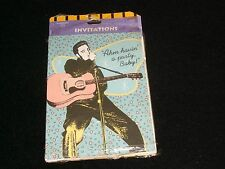 ELVIS PRESLEY<>8 INVITATIONS CARDS°1993°IN EXCELLENT CONDITION° WITH ENVELOPES.