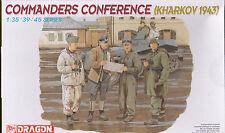 DRAGON 6144 - COMMANDERS CONFERENCE KHARKOV 1943 1/35 - NUOVO