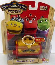 Chuggington Wooden Musical Car DISCOUNTED