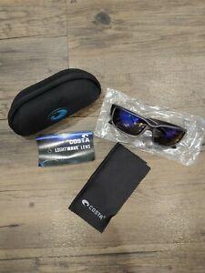 Mens Costa Del Mar Costa Lightwave Lens Sunglasses Polarized Gray NEW