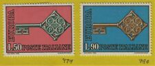 ITALY Stamps Scott 979, 980 MH