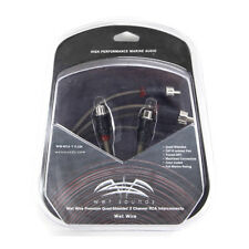 Wet Sounds WW-RCA-Y-F-2M Marine Audio Y-Adapter RCA Interconnect - 1F to 2M