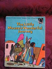 Vintage Paperback - The Little Mouse's Wonderful Journey by Frances C. Allan