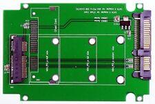 "M-ware® Mini PCIe 52pin Msata SSD zu 6,4cm (2,5"") Notebook SATA Festplatte HDD"