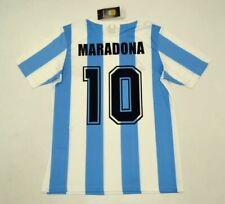 MAGLIA CALCIO RETRO ARGENTINA HOME 1986 10 MARADONA WORLD CUP DIEGO DIOS EL PIBE