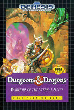# Sega Genesis-Donjons & Dragons: Warriors of the Eternal Sun (mega drive) #