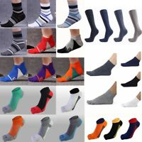 1 Pairs Men Womens Unisex Cozy Cotton Combed Ankle Socks Five Finger Toes Casual