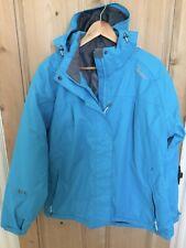Womens 'Tog24' Waterproof Ski Jacket - Size M/L - Lightly Padded /Taped Seams