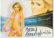 Holley Dorrough 2013 Bench Warmer Authentic autograph auto card 73