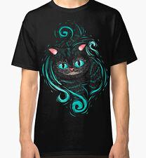 Cheshire Cat T-Shirt Men's Women's Alice In Wonderland New Cotton Tee