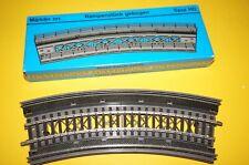 RF9] Märklin H0 7267 Rampenstück gebogen R=360 für K + M Gleise OVP + Gleis