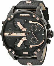 Diesel Men's Mr. Daddy 2.0 DZ7350 57mm Black Dial Leather Watch