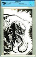 Venom #28 Comics Elite Black & White Virgin Exclusive - CBCS 9.8!