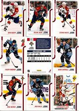 2011-12 Panini Score Glossy Florida Panthers Complete Master Team Set (15)