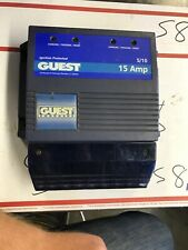 GUEST MARINE 3 STAGE BATTERY CHARGER 2614A AUTOMATIC CHARGER 5A/10A@ 12VDC 115V