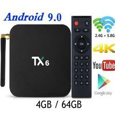 Newest Smart TV Box Android 9.0 Tanix TX6 H6 4GB RAM 64GB ROM 32G 4K