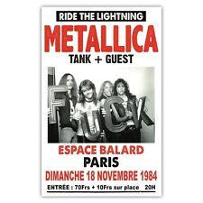 Affiche Metallica