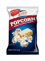 Lance Popcorn White Cheddar Cheese .75 OZ | 60 BAGS | 1 CASE