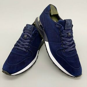 Louis Vuitton Run Away sneaker navy blue denim 11.5 US 44,5 EUR GO0175