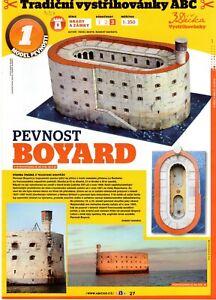 Fort Boyard (fortification)  Czech Paper Model 1 : 350