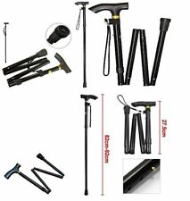 Brand New Walking Sticks Easy Folding Adjustable Light Weight Aluminium Sticks