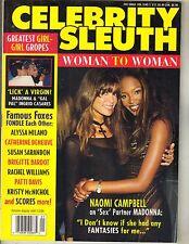 NAOMI CAMBPELL Celebrity Sleuth Magazine 1995 Vol 9 No 1 MADONNA ALYSSA MILANO