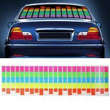 Car Sticker Music Rhythm LED Flash Light Lamp Sound Activated Equalizer 45x11cm