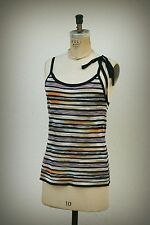 MISSONI M Made in Italy Size 8 Racer Back Knit Tank Tunic