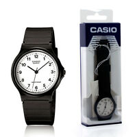 Casio Classic Retro Analogue Fashion Style Men's Lady's Black White Watch - MQ24