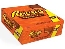 Reese's Peanut Butter Cups King Size 2.8 oz Packages (Box of 24) FRESH Reese