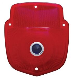 Taillight Lens - Red w/ Blue Dot 1953 - 1956 FORD TRUCK - UPI A5016