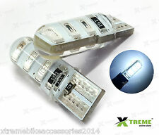 2pcs 6smd 5w Jelly T10 White Parking LED for TVS Scooty Streak