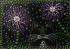 CAT ACEO-  All Dots    - Pryjmak