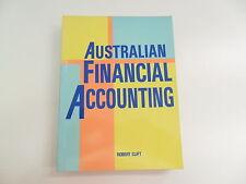AUSTRALIAN FINANCIAL ACCOUNTING ROBERT CLIFT 1990 TEXTBOOK