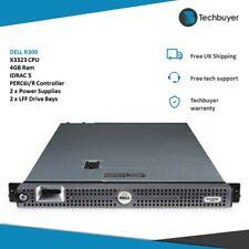 DELL R300-X3323 - 4GB-IDRAC 5-PERC 6I/R - 2 X PSU - 2 X LFF