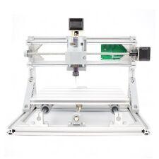Mini 24x18x4.5cm CNC Mill Wood Router Engraving USB Milling Machine+2500mw Laser