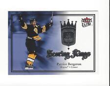 2007-08 Ultra Scoring Kings #SK11 Patrice Bergeron Bruins