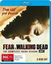 Fear The Walking Dead: Season 3  - Blu-ray (5-Disc Set) - NEW & SEALED