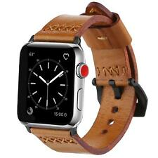 Apple Watch Series 3/2/1/Edition Nike+ Band 42mm Genuine Leather Case Breathable