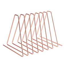 Triangle Bookshelf Book Stand Holder Desk Book File Storage Rack Retractable