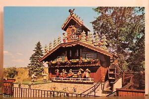 Ohio OH Alpine Wilmot Cuckoo Clock Postcard Old Vintage Card View Standard Post