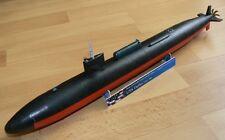 Modelik 10/12 - sottomarino nucleare USS Dallas 1:200 con parti Lasercut